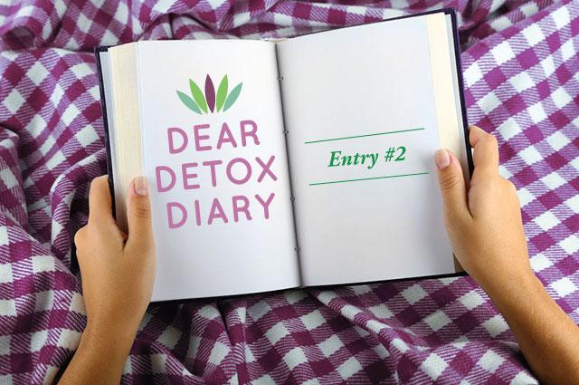 Dear Detox Diary #2 - Myersdetox com